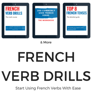 French Verb Drills Bundle