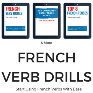 French Verb Drills Bundle