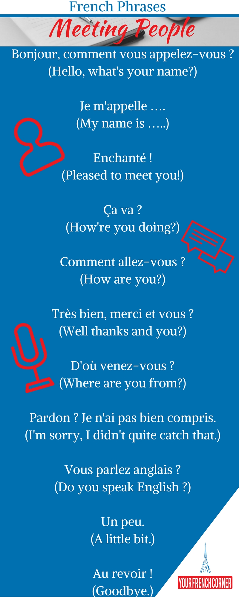 merci vu ple meaning in english